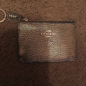 Coach coin zip wallet